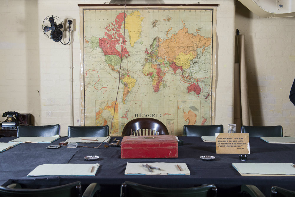 BEHIND THE SCENES AT THE CHURCHILL WAR ROOMS .jpg